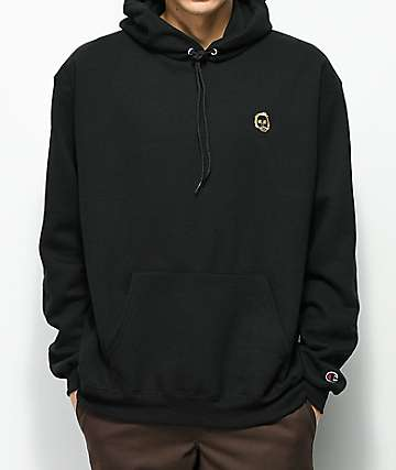 Sweatshirt by Earl Sweatshirt sudadera con capucha en negro y dorado