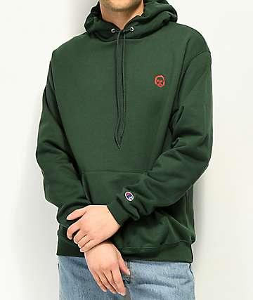 Sweatshirt by Earl Sweatshirt sudadera verde con capucha