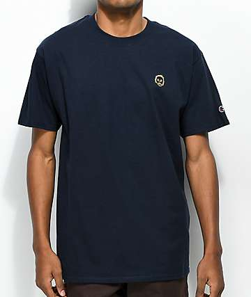 23af01d7 Sweatshirt by Early Sweatshirt Premium Navy & Gold T-Shirt