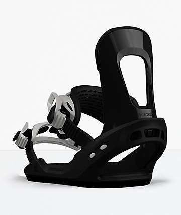 Switchback Destroyer Black Snowboard Bindings 2019