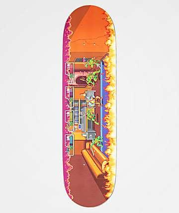 "TMNT x Santa Cruz Arcade Everslick 8.5"" Skateboard Deck"