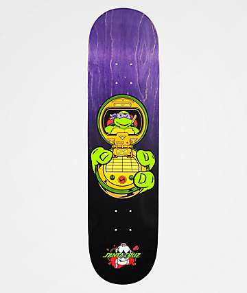 "TMNT x Santa Cruz Donatello 8.125"" Skateboard Deck"