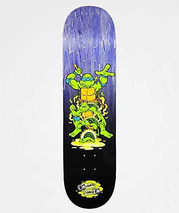 "TMNT x Santa Cruz Leonardo 8.375"" Skateboard Deck"