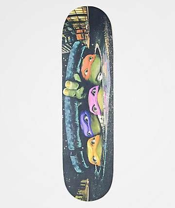 "TMNT x Santa Cruz Poster Everslick 8.25"" Skateboard Deck"