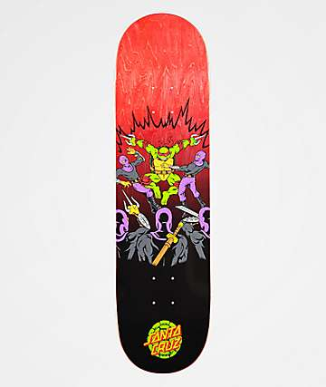 "TMNT x Santa Cruz Raphael 8.25"" Skateboard Deck"