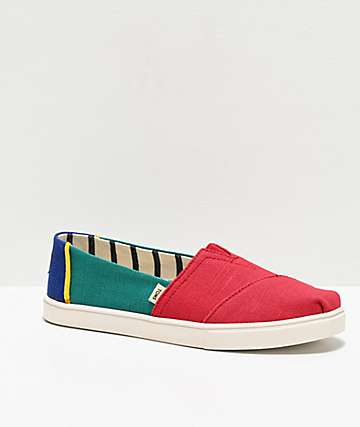 TOMS Alpargata Multicolored Shoes