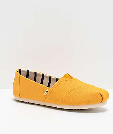 TOMS Classic Alpargata Yellow Shoes