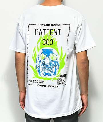 Taylor Gang Patient 303 White T-Shirt