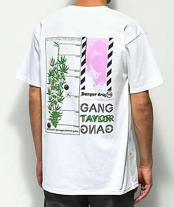 Taylor Gang THC Levels camiseta blanca