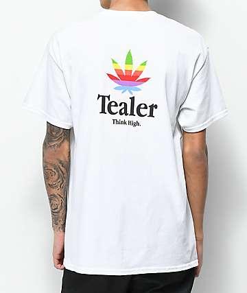 Tealer Think High camiseta blanca