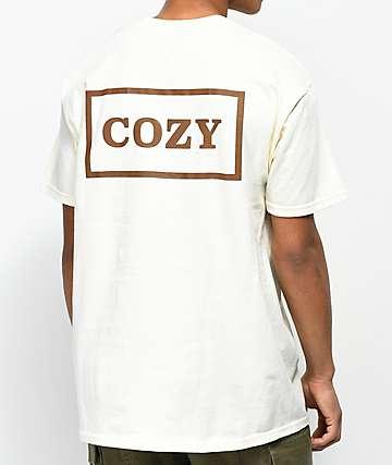 Team Cozy Cozier Box camiseta en color crema
