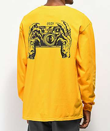 Team Cozy Gold Fingers Long Sleeve T-Shirt