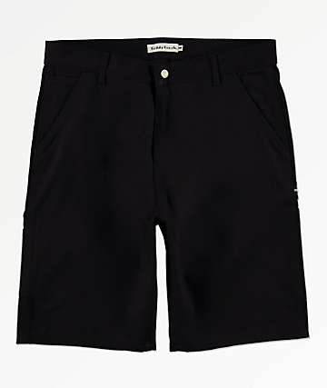 Teddy Fresh Black Denim Shorts