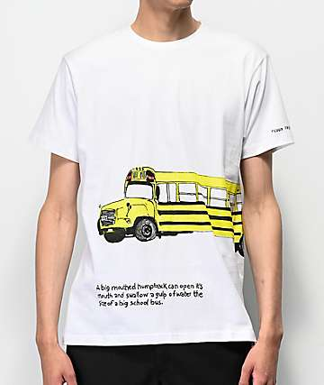 Teddy Fresh Bus White T-Shirt