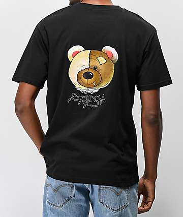 90594cb08 Teddy Fresh Colorful Filth Head Black T-Shirt