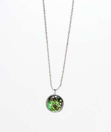 Teddy Fresh Green Globe collar que brilla en la oscuridad
