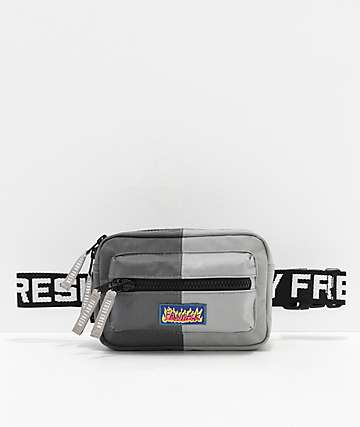 Teddy Fresh Grey & Charcoal Fanny Pack