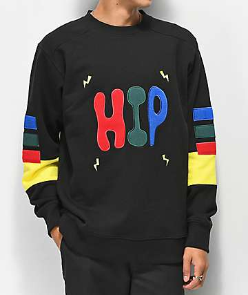 Teddy Fresh Hip Hop Black Sweater