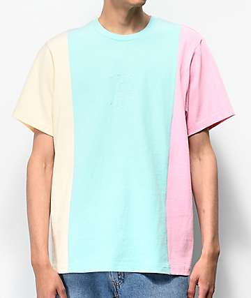 e147b90c Teddy Fresh Pastel Colorblock T-Shirt
