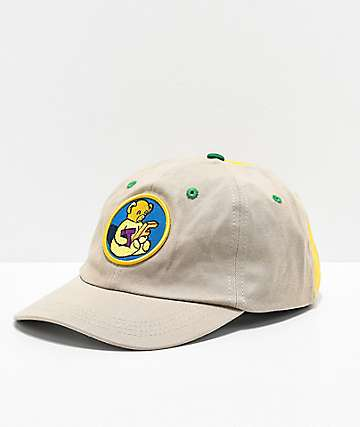 Teddy Fresh Patch Mineral Wash 2 Tone Strapback Hat