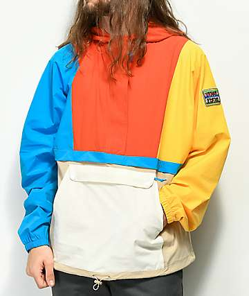 Teddy Fresh Patches Colorblocked chaqueta anorak