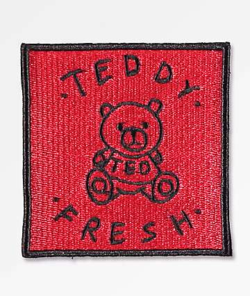 Teddy Fresh Red Patch