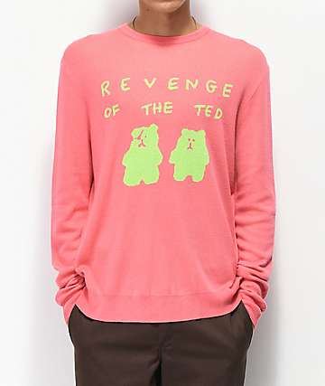 Teddy Fresh Revenge Of The Ted Pink Sweater
