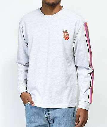 Teddy Fresh Stripe & Flame camiseta de manga larga