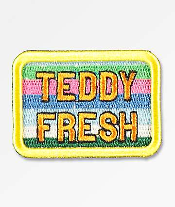 Teddy Fresh Stripes Patch