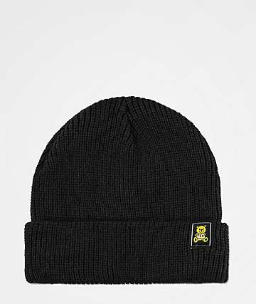 99fe2284fc0 Teddy Fresh Ted Logo Black Beanie