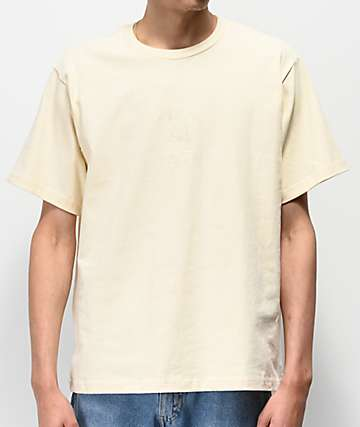 Teddy Fresh Tonal Embroidery Yellow T-Shirt