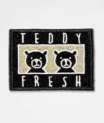 Teddy Fresh Two Teds Black & White Patch