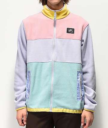 Teddy Fresh chaqueta de polar multicolor