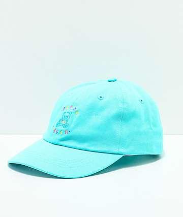 Teddy Fresh gorra strapback bordada azul pastel