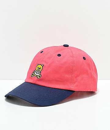 Teddy Fresh gorra strapback roja y azul