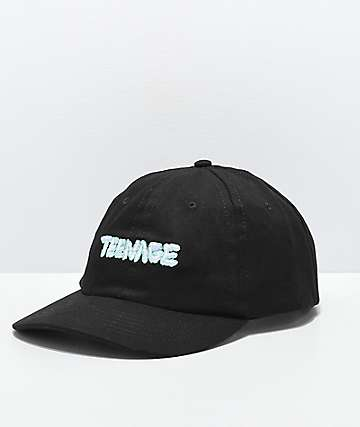 Teenage Black Strapback Hat