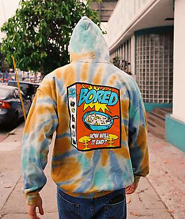 Teenage Breakfast Tie Dye Hoodie