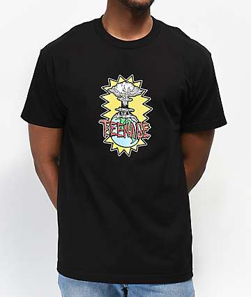 Teenage Explosive Black T-Shirt