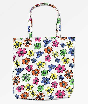 Teenage Floral Tote Bag