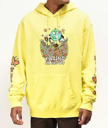 Teenage Kill Em Softly Yellow Hoodie