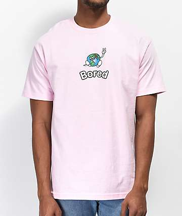Teenage Peace Off Light Pink T-Shirt
