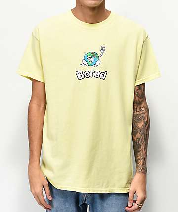 Teenage Peace Off Yellow T-Shirt