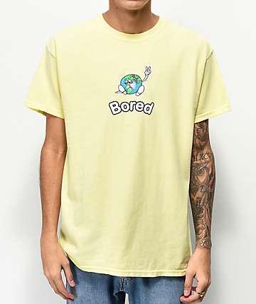 Teenage Peace Off camiseta amarilla