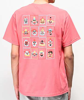 Teenage Usual Suspects Coral T-Shirt