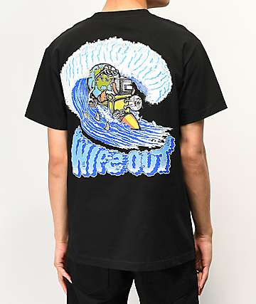 Teenage Wipeout Black T-Shirt