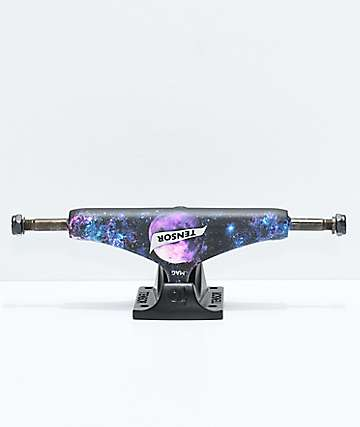 "Tensor Space 5.25"" Magnesium Light Black & Purple Skateboard Truck"