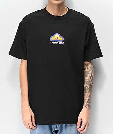 Thank You Game Cloud Black T-Shirt