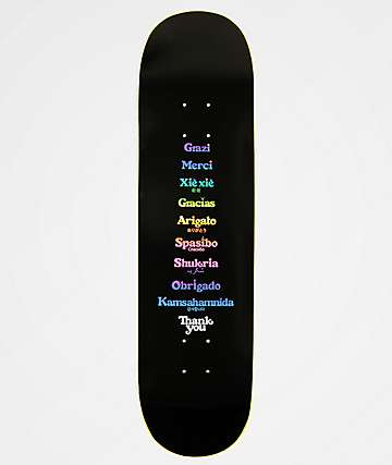 "Thank You Global 8.0"" Skateboard Deck"