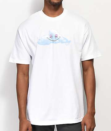 Thank You Head In The Clouds White T-Shirt
