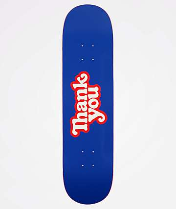 "Thank You Logo 8.0"" Skateboard Deck"